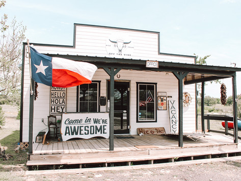 Texas Travel Guide: Off the Vine RV Park in Hico, TX