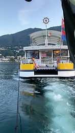 Das Katja Boot ca 60 Tonnen brachten wir