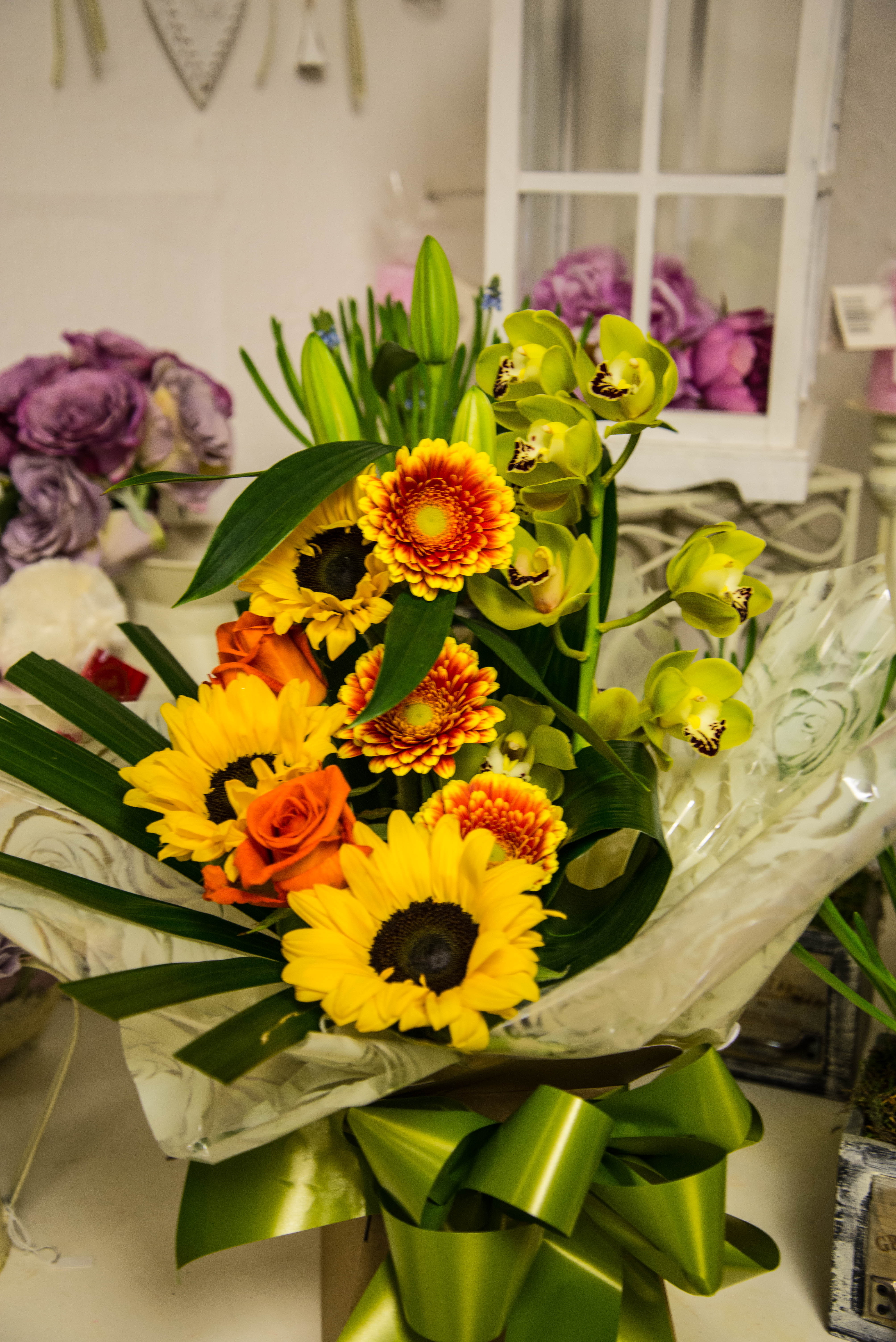 Sending a Bouquet of Flowers