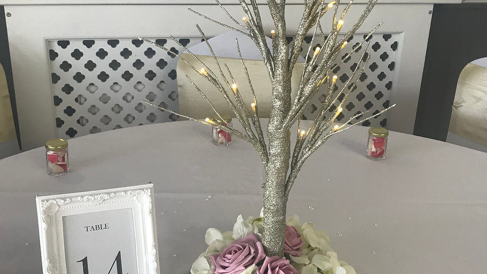 LED Tree Centrepieces