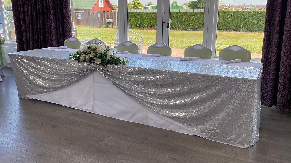 Sequin Top Table Swag