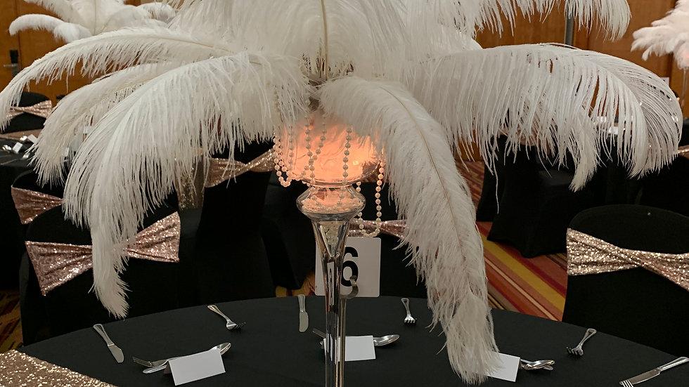 Feather Centrepiece