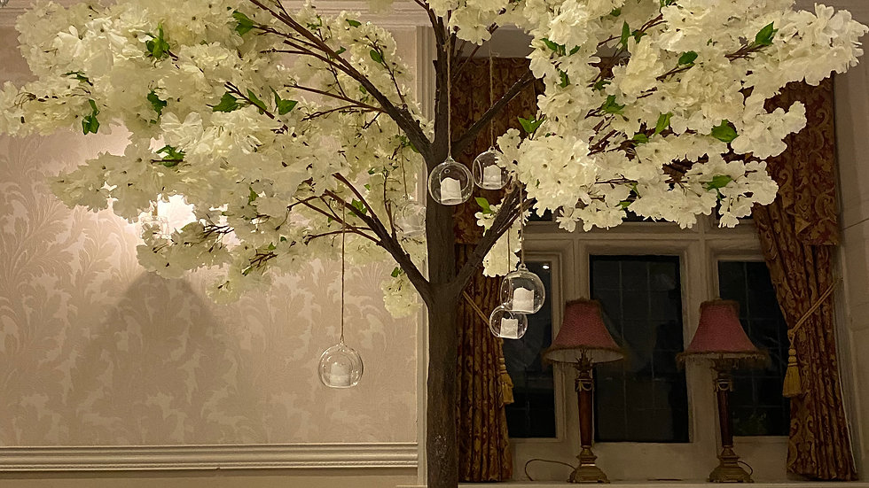 Large Blossom Tree Centrepieces