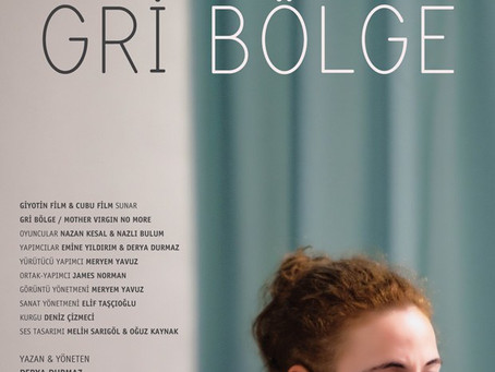 """Oyuncularımızdan Derya Durmaz'ın yazıp yönettiği, Nazlı Bulum'un da başrollerinde yer aldığı film """"G"""