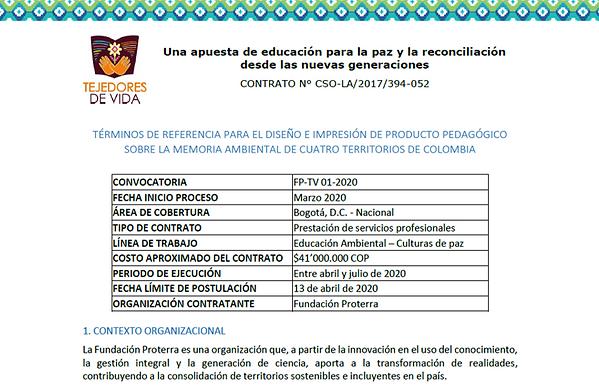 Imagen TORS Producto Memoria Ambiental.p