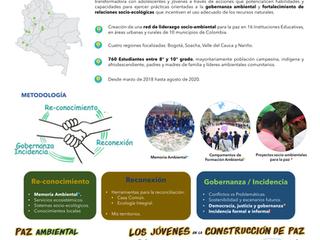 """Proterra presente en el Congreso Colombiano de Ecología 2018 con el proyecto """"Tejedores de vida"""