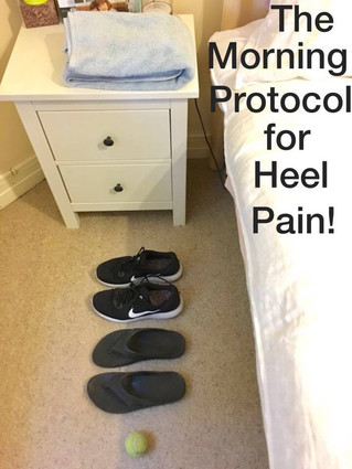 The 5 Minute Morning Protocol for Heel Pain - Plantar Fasciitis