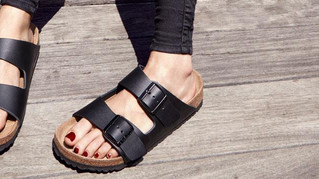 Thongs and sandals that your plantar fascia will love!