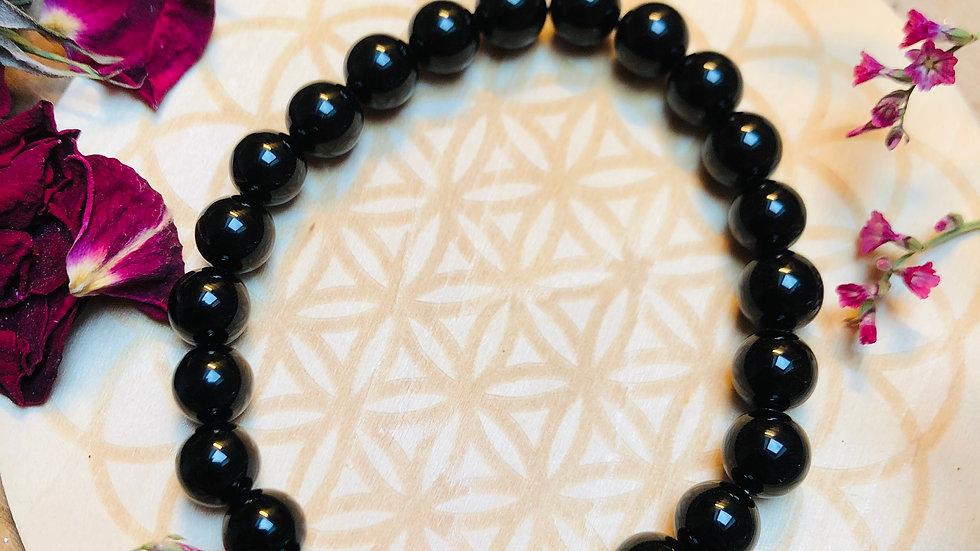 Bracelet Onyx - Pierre Divine