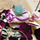 Thumbnail: Pendentif Merkaba - Aventurine ou Cristal de Roche