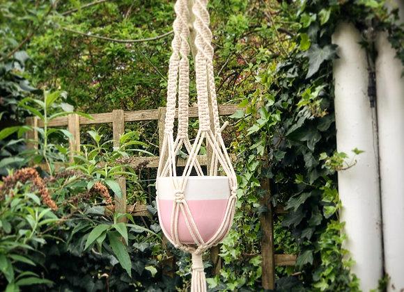 """Lilia"" Macrame Plant Hanger"