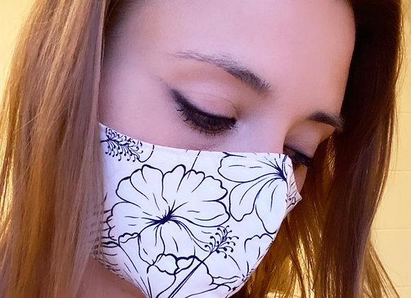 Reusable organic cotton face masks