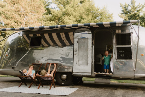 Cincinnati, OH | Our road trip cross-country in Sterling Stream, a renovated 1962 Airstream Overlander.