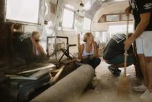 1962 Airstream, Airstream Overlander, Airstream Renovation, Airstream Living, Tiny House
