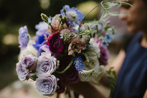 Photos of Port & Palm Co. wedding floral design in McMinnville, Oregon.