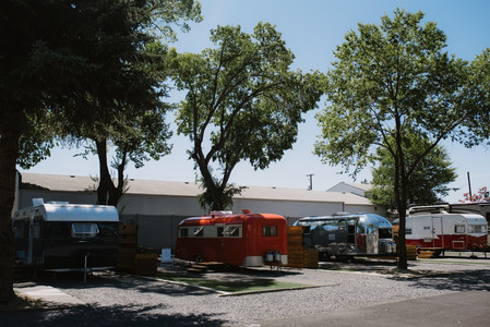 The Camp RV Park in Bend, Oregon.