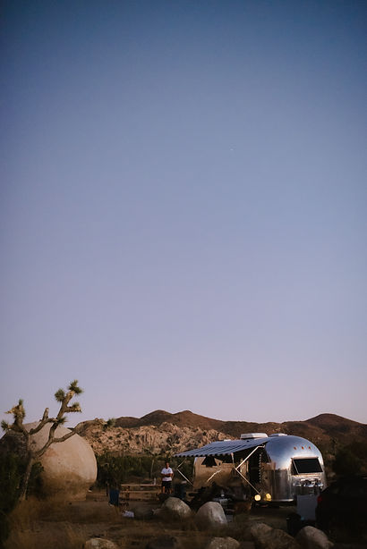 Joshua Tree National Park Airstream Travels