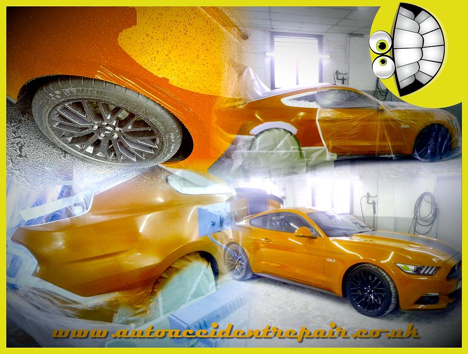 Ford mustang respray