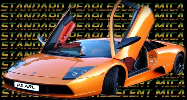 Lamborghini paint work wirral