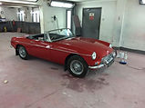 classic car paint work in wirral