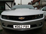 american car paint work in wirral