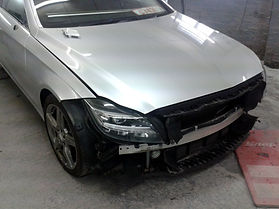 mercedes body repair wirral