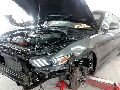 Ford mustang paint wirral