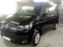 vw transporter paint work wirral
