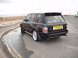 range rover paint work wirral