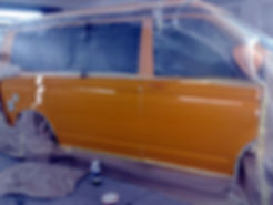 vw transporter body work in wirral