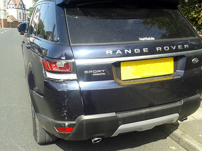 range rover body and paintwork wirral