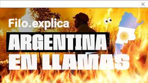 La Argentina se prende fuego: focos intencionales, intereses económicos y falta de regulación