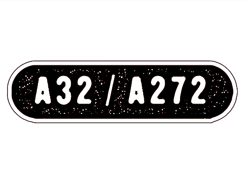 LOOMIES A272 Sticker - Waterproof / Large