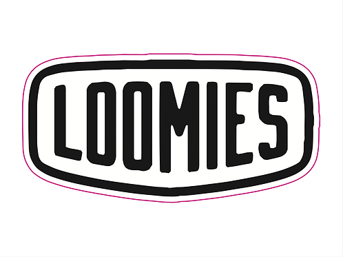 LOOMIES Balloon Sticker - Indoor / Small