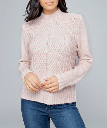 BLUSH KNIT PULLOVER