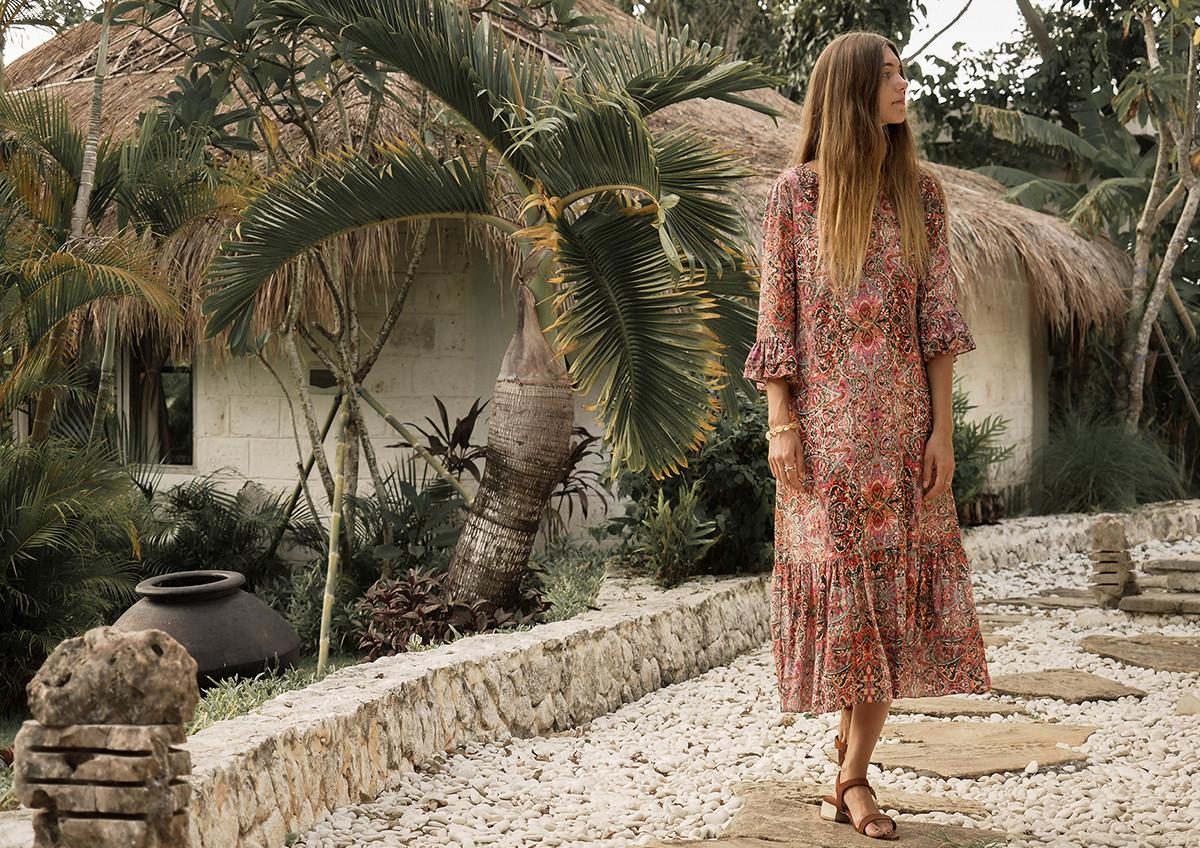 Karlotta Printed Dress