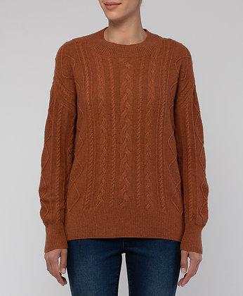 Cable Stitch Pullover
