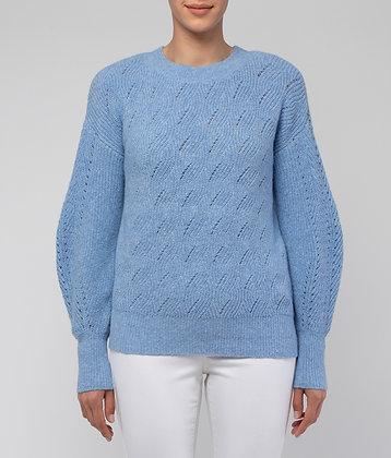 Swirl Pattern Sponge Pullover