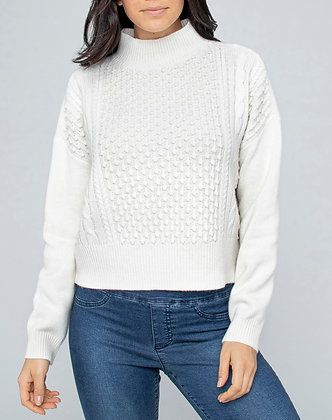 IVORY KNIT PULLOVER