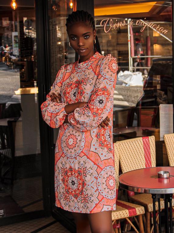 Kachel mini dress