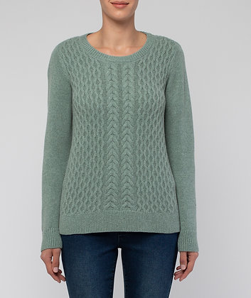 Texture Front Pullover