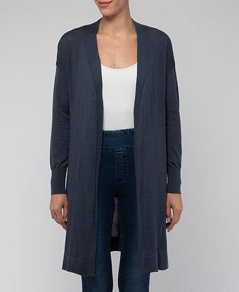 Longline Merino Wool Cardi