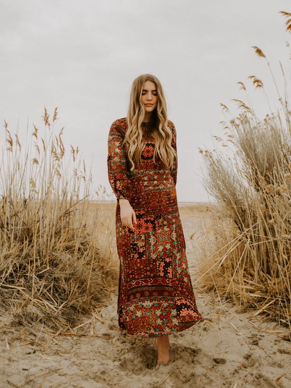 Kachel Nancy Midi Dress
