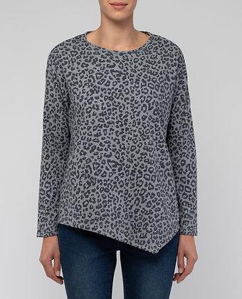 Asymmetrical Animal Sweater