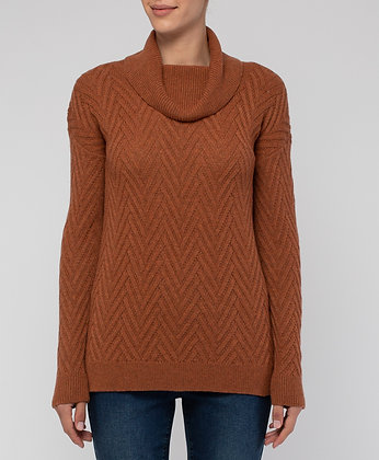 Zig Zag Stitch Pullover