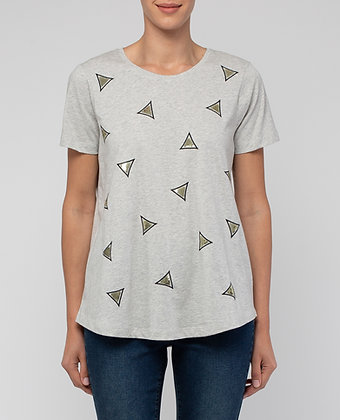 Sequin Triangle Tee