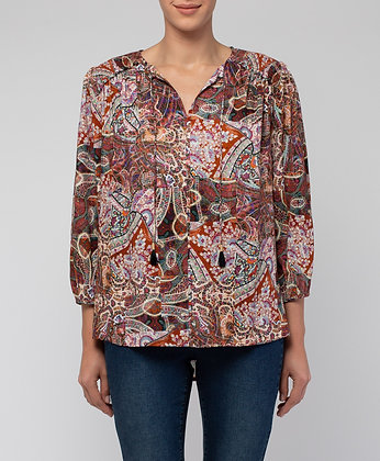 Marrakesh Print Top