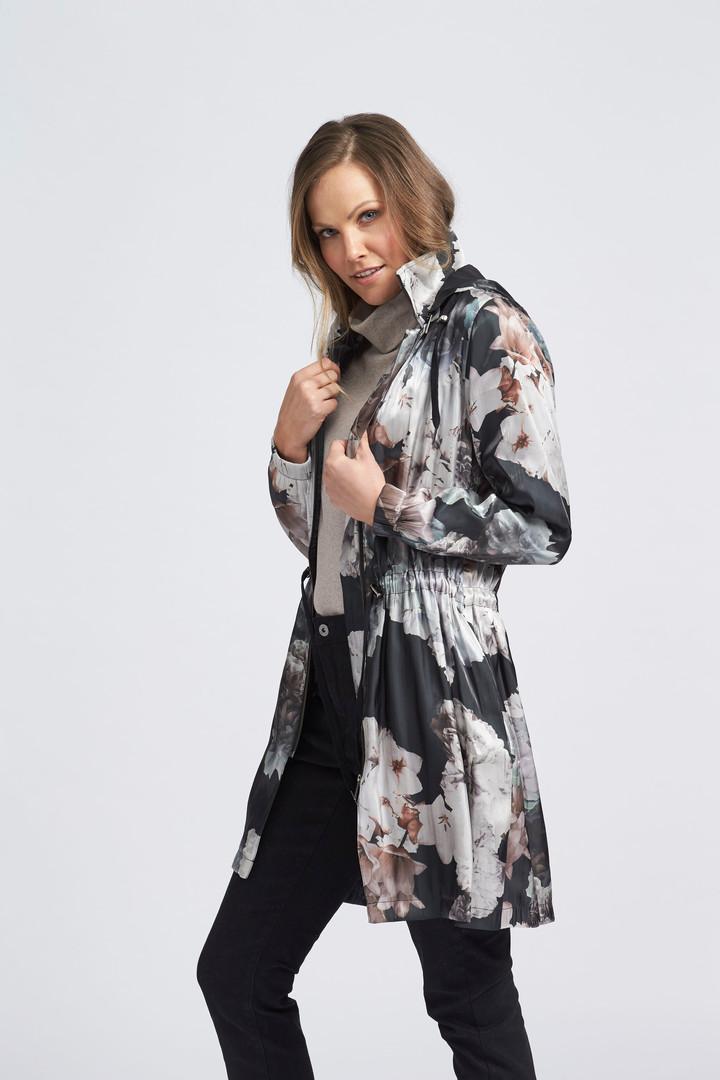Studio Floral Hooded Jacket