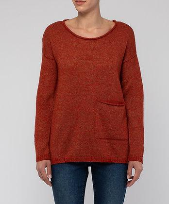 1 Pocket Mohair Pullover