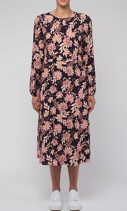 Spot Floral Dress